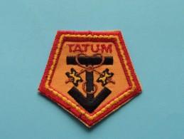 Boy Scouts Badge : TATUM New Zealand ( Zie Foto Voor Detail ) ! - Padvinderij