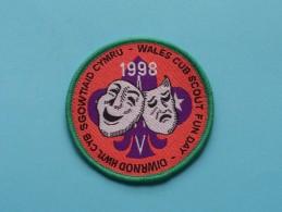 Boy Scouts Badge : WALES CUB SCOUT FUN DAY 1998 ( Zie Foto Voor Detail ) ! - Scoutisme