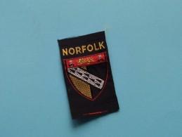 Boy Scouts Badge : NORFOLK ( Zie Foto Voor Detail ) ! - Scoutisme
