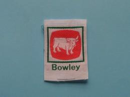 Boy Scouts Badge : BOWLEY ( Zie Foto Voor Detail ) ! - Padvinderij
