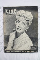 Old Movie/ Cinema Magazine From 1953, Cover: Lana Turner, Back Cover: Susan Hayward & Maria Rosa Salgado - Magazines