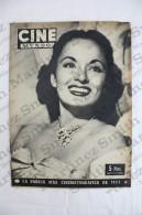 Old Movie/ Cinema Magazine From 1953, Cover: Ann Blyth, Back Cover: Antonella Lualdi - Revistas