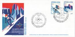Italië - Alpine Skiweltmeisterschaften In Gröden ( Val Gardena) -  M 1303-1304 - Skisport
