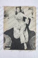 Old Movie/ Cinema Magazine From 1953, Cover: Amadeo Nazzari, Back Cover: Arlene Dahl - Revistas