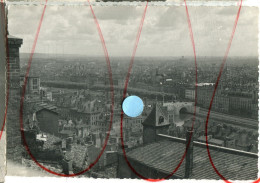 LYON Vue Panoramique  Vers 1960 - Places