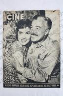 Old Movie/ Cinema Magazine From 1954, Cover: Gina Lollobrigida & Vittorio De Sica, Back Cover: Gloria Grahame - Revistas