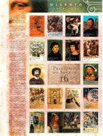 2000 Angola Millenium Complete Set Of 1 Miniature Sheets MNH - Angola