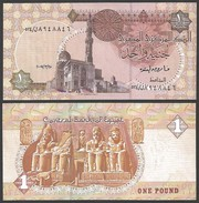 EGYPTE Egypt 1 POUND 25.3.2007 P 50l UNC - Egypt
