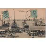 AMRATP2624CPA-LFTD3031TCSC .Tarjeta Postal DE ALMERIA.Barcos,muelles,mercancia En El PUERTO DE ALMERIA.Circulada - Sin Clasificación