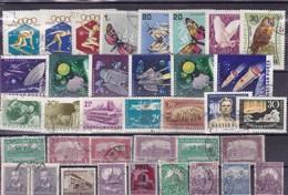 HONGRIE: Lot De 35 Timbres Oblitérés