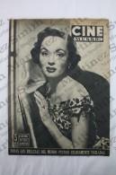 Old Movie/ Cinema Magazine From 1954, Cover: Ann Blyth, Back Cover: Mara Corday & Gina Lollobrigida - Revistas