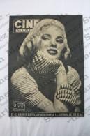 Old Movie/ Cinema Magazine From 1954, Cover: Mamie Van Doren, Back Cover: Gina Lollobrigida, Inside: Virginia Mayo - Revistas