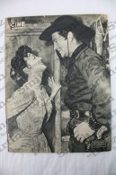 Old Movie/ Cinema Magazine From 1954, Cover: Amparito Rivelles, Back Cover: Robert Taylor & Ava Gardner - Revistas