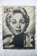 Old Movie/ Cinema Magazine From 1954, Cover: Jane Powell, Inside: Gina Lollobrigida, Pier Angeli - Revistas