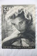 Old Movie/ Cinema Magazine From 1954, Cover: Bruna Corra, Inside: Sofia Loren, Julia Adams - Revistas