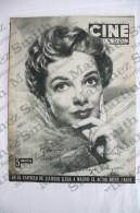 Old Movie/ Cinema Magazine From 1955, Cover: Kathryn Grayson, Back Cover: Silvana Pampanini - Revistas