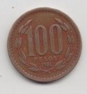 @Y@   Chili  100 Pesos  1981     (3174) - Chili