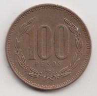 @Y@   Chili  100 Pesos  1992     (3175) - Chili