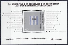 West-Duitsland - 50. Jahrestag Der Befreiung Der Gefangenen Aus Den Konzentrationslagern - MNH - M Blok 32 - [7] West-Duitsland