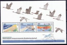 West-Duitsland - Deutsche National- Und Naturparks (I) - Vorpommersche Boddenlandschaft - MNH - M Blok 36 - [7] West-Duitsland