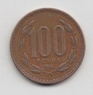 @Y@   Chili  100  Pesos  1994    (3179) - Chili