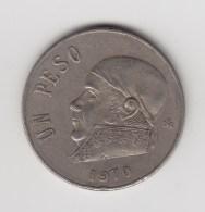 @Y@  Mexico   1 Pesos  1970     (3184) - Mexico