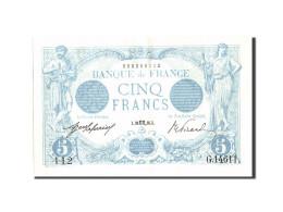 France, 5 Francs, 5 F 1912-1917 ''Bleu'', 1916, 1916-10-26, KM:70, SUP, Fayet... - 1871-1952 Anciens Francs Circulés Au XXème