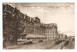 44 - LA BAULE SUR MER HERMITAGE HOTEL ET LES NOUVEAUX BOULEVARDS - ÉDITIONS BRUEL N° 11 - SEMEUSE 235 - 2 Scans - - La Baule-Escoublac