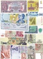 Europe Lot 15 UNC Banknotes - Banconote