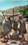 Scènes Et Types - Broyage De Graines - Algeria