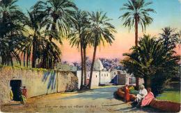 Scènes Et Types - Une Rue Dans Un Village Du Sud - Algeria