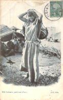 Scènes Et Types - Une Bédouine Porteuse D'eau - Algeria