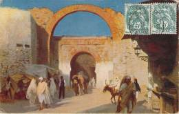 Scènes Et Types - Porte Maure - Algeria
