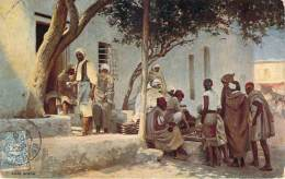 Scènes Et Types - Café Arabe - Algeria