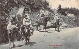 Scènes Et Types - Salut De Brousse, Paysans (âne) - Algeria