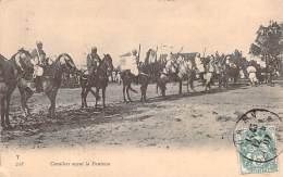 Scènes Et Types - Cavaliers Avant La Fantasia - Algeria