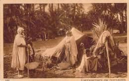 Scènes Et Types - Campement De Nomades - Algeria
