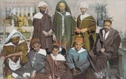 Scènes Et Types - Groupe D'ouvriers Arabes - Algeria