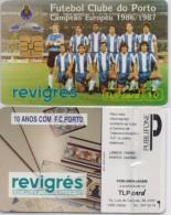PORTUGAL TLP PHONECARD(CHIP) PORTO F.C -9/93-15400pcs -USED(bx1) - Portugal