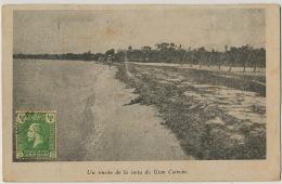 Un Rincon De La Costa De Gran Caiman  Edit Duplex B. Resines Spanish Edition  Stamp But Not Used - Caïman (Iles)