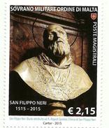 2015 - Sovrano Militare Ordine Di Malta 1244 Nascita Di San Filippo Neri
