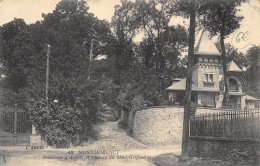 CPA 95 MONTMORENCY BOULEVARD D ANDILLY ET CHEMIN DU MONT GRIFFARD 1919 - Montmorency