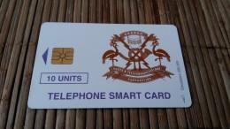 Oeganda Phonecard 10 Units Used Rare