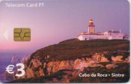 PORTUGAL TELECOM PHONECARD(CHIP) CABO DA ROCA-2/03-30000pcs -USED(bx1) - Portugal