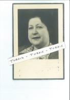 MARIA L JOORIS WED AUGUST GOES ° OOSTENDE 1898 + 1954 FAMILIES DECLERCQ BEDANKEN - Santini