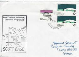 12324  SCOTT BASE - NEW ZÉLAND ANTARTIC PROGRAMME - 1979 - ROSS DEPENDENCY - Lettres & Documents