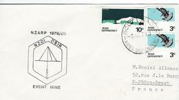 12323  SCOTT BASE - NEW ZÉLAND ANTARTIC PROGRAMME - 1979 - ROSS DEPENDENCY - Lettres & Documents