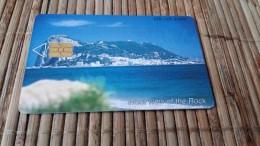 Phonecard Gibraltar Vieuw On The Rock  Rare - Gibraltar