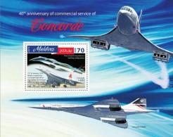 Maldives. 2016 Concorde. (810b)