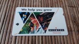 Oezbekistan Alcatel Bell Used 2 Scans  Very RAre - Ouzbékistan
